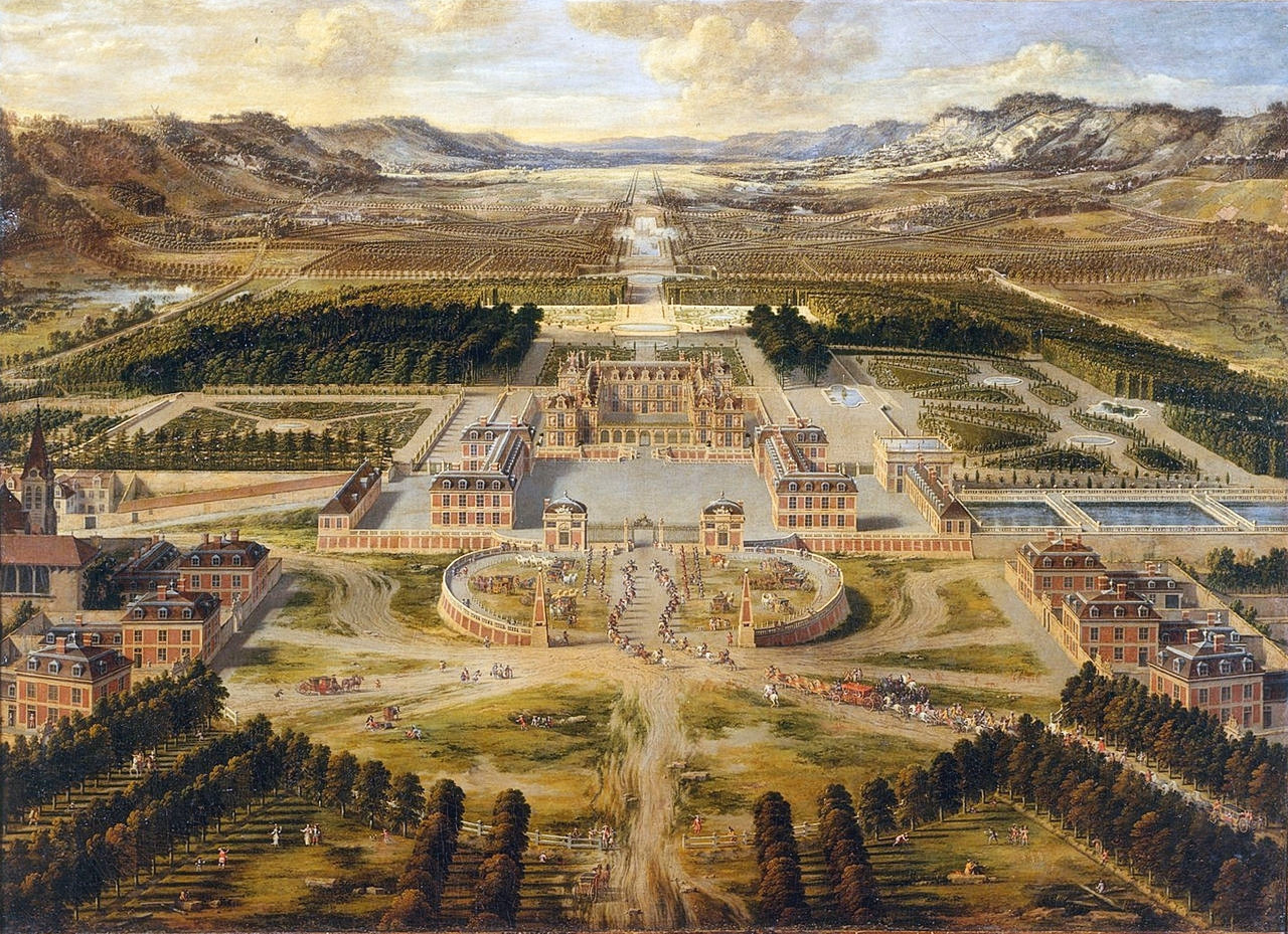 yinfupai--The Feng Shui of The Versailles Palace, France--风水 1