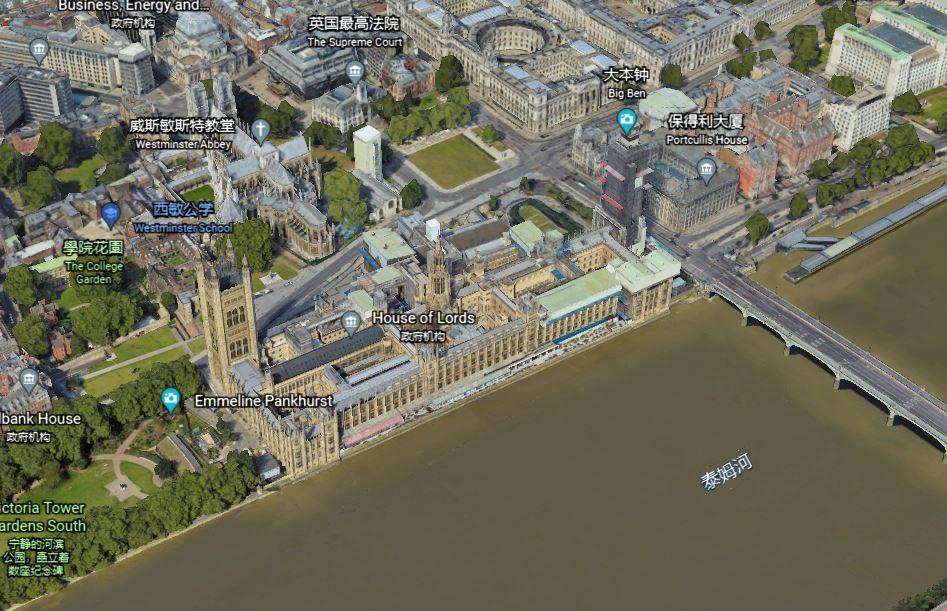 道家阴符派博客--英国的风水的秘密-伦敦威斯敏斯特宫-- 5