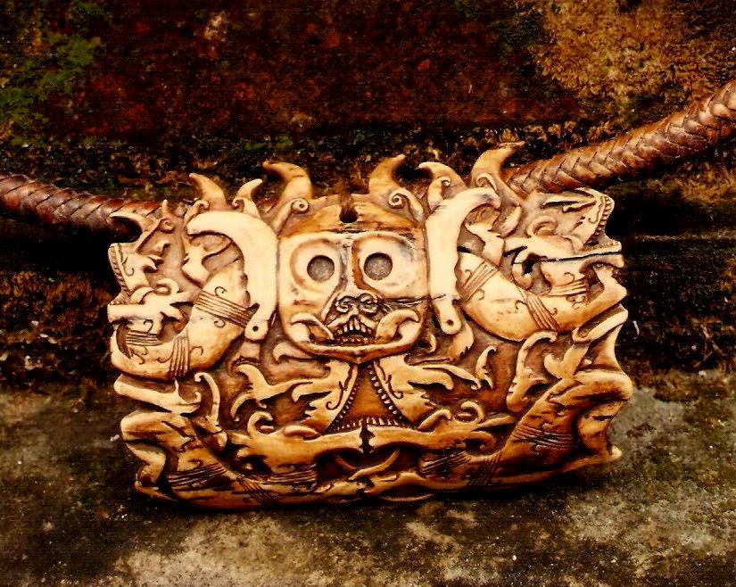 道家阴符派博客--印尼婆罗洲(加里曼丹)岛护身符--护身符