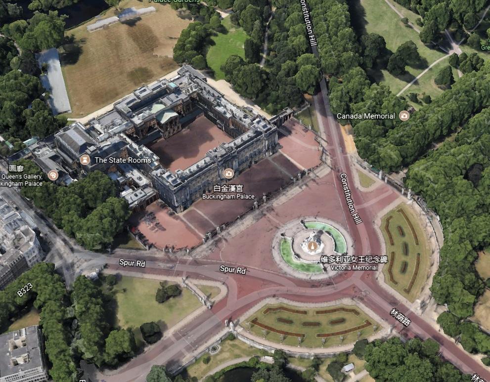 yinfupai--英国伦敦的白金汉宫风水漫谈--风水 4