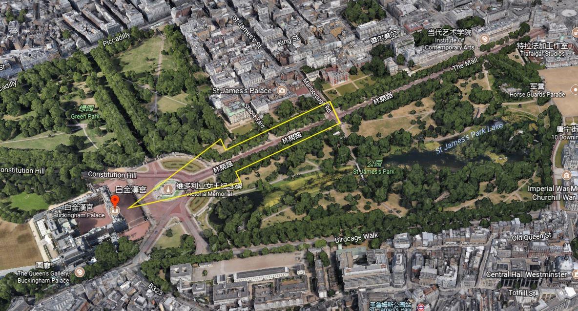 yinfupai--英国伦敦的白金汉宫风水漫谈--风水 5