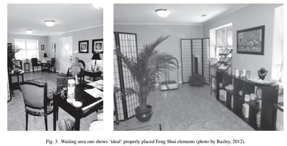 yinfupai--美国的风水研究-医疗等候区舒适性的室内效应--风水 3