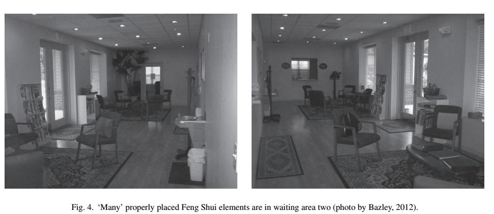 道家阴符派博客--美国的风水研究-医疗等候区舒适性的室内效应--风水 4