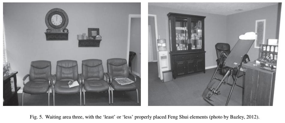 yinfupai--美国的风水研究-医疗等候区舒适性的室内效应--风水 5