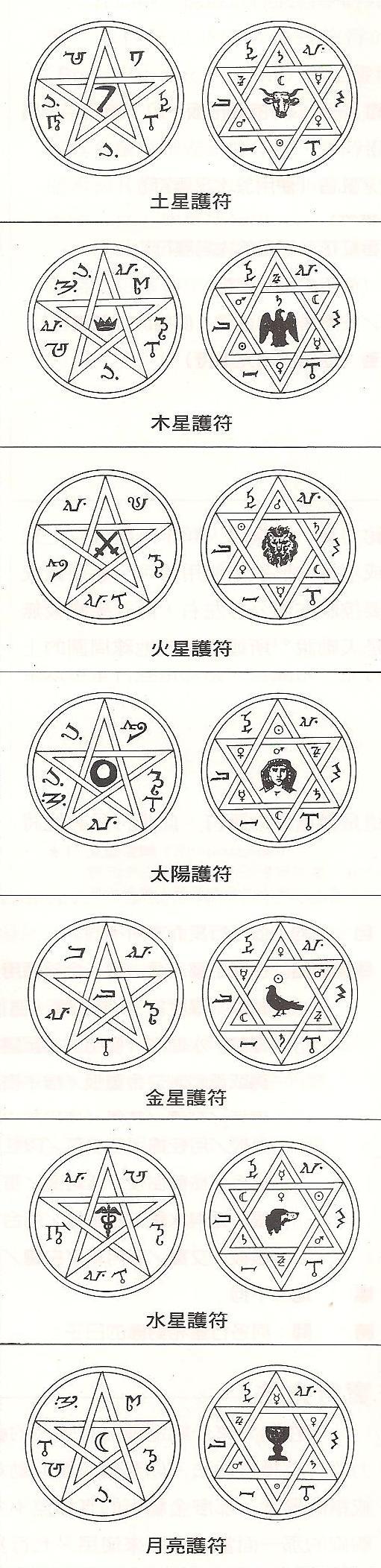 道家阴符派博客--谈谈西方占星中使用的护身符--护身符